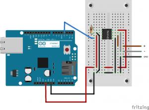 Electronics diagram